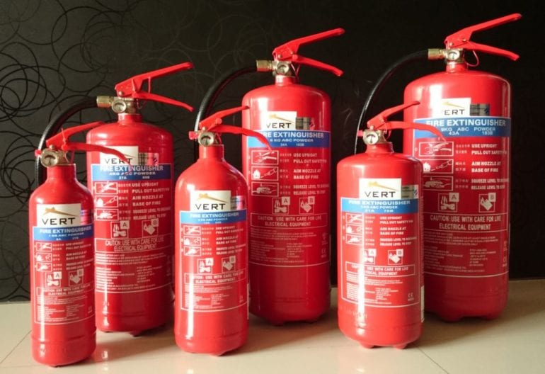 Fire Extinguisher Fire Safety in Singapore Honeykids Asia