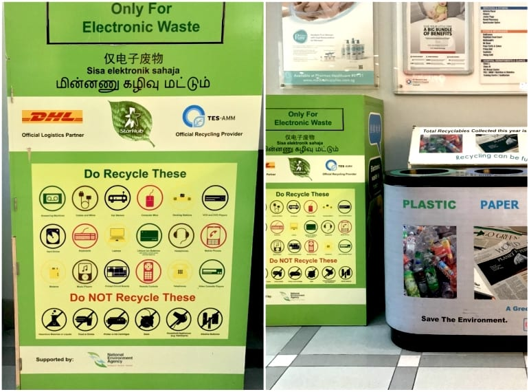Starhub RENEW Bin Recycling e-waste in Singapore Honeykids Asia