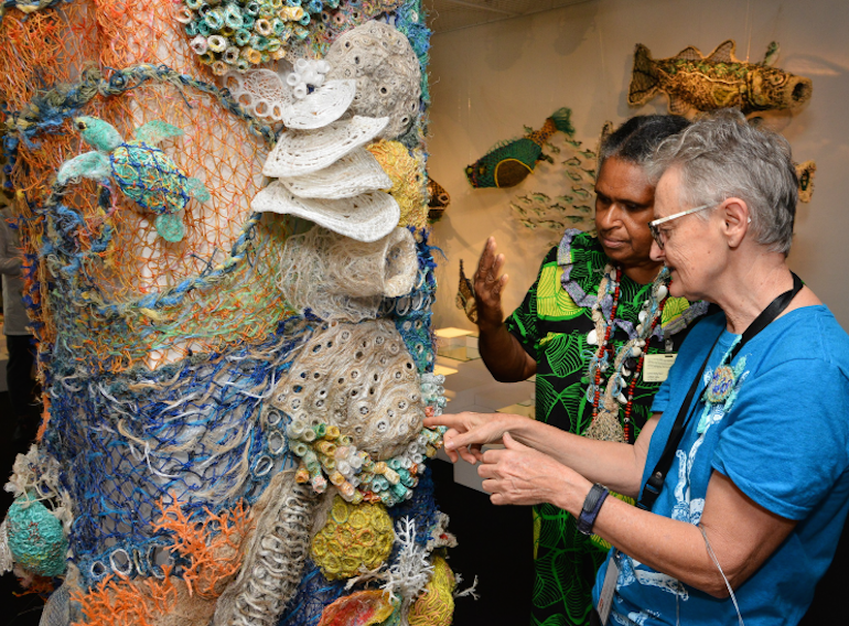 Museum exhibitions for kids in Singapore Ghost Nets of the Ocean at ACM HoneyKids Asia
