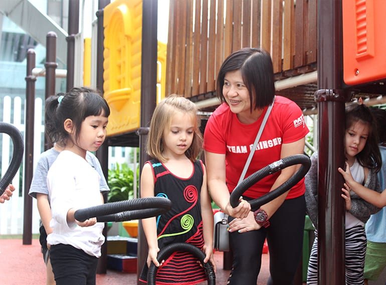 Singapore preschools Pat's Schoolhouse interview with principal Ada Teo Prinsep branch HoneyKids Asia