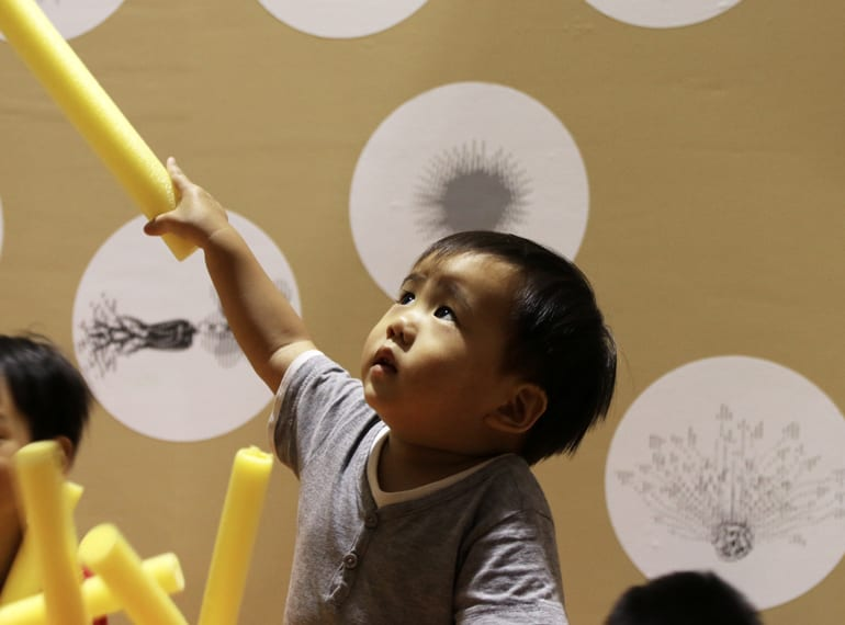 The Artground new creative indoor play space for children in Singapore HoneyKids Asia