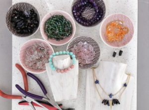 Jewellery Making Workshop Shop Liz B courses and classes for adults HoneyKids Asia