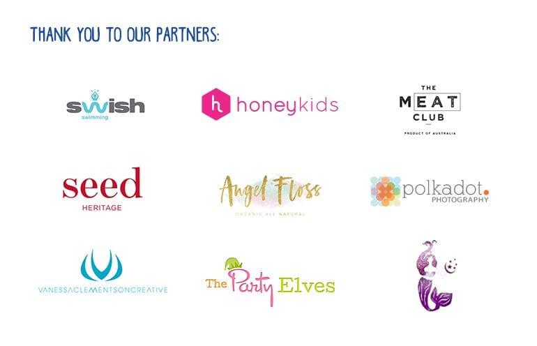 HoneyKids Asia Endless Summer pool party sponsors