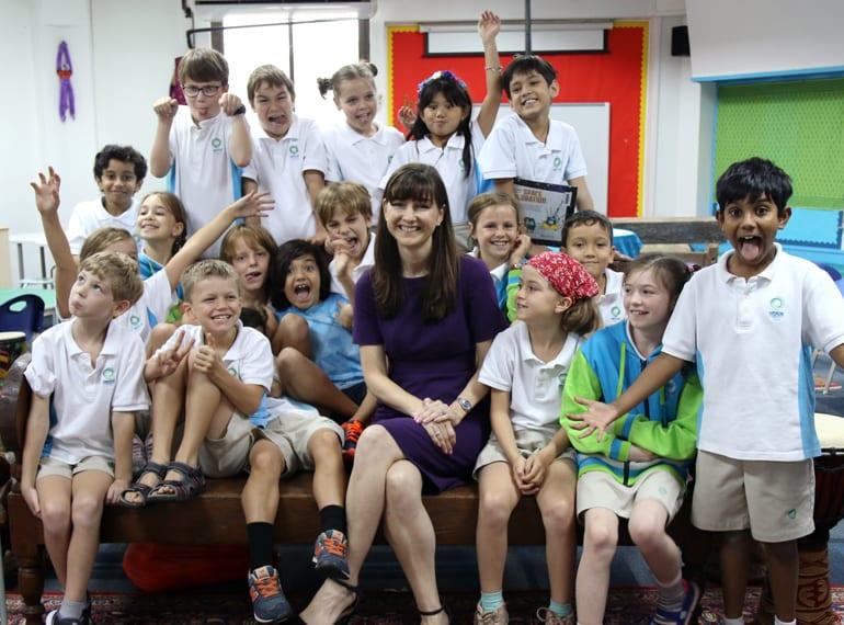 Judy Cooper Principal Nexus International School Singapore HoneyKids Asia School Selector