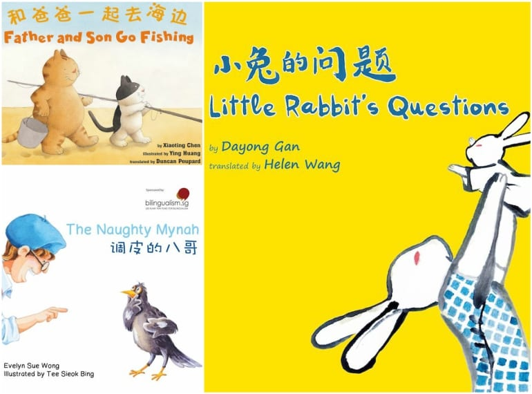 Bilingual Chinese picture books Honeykids Asia