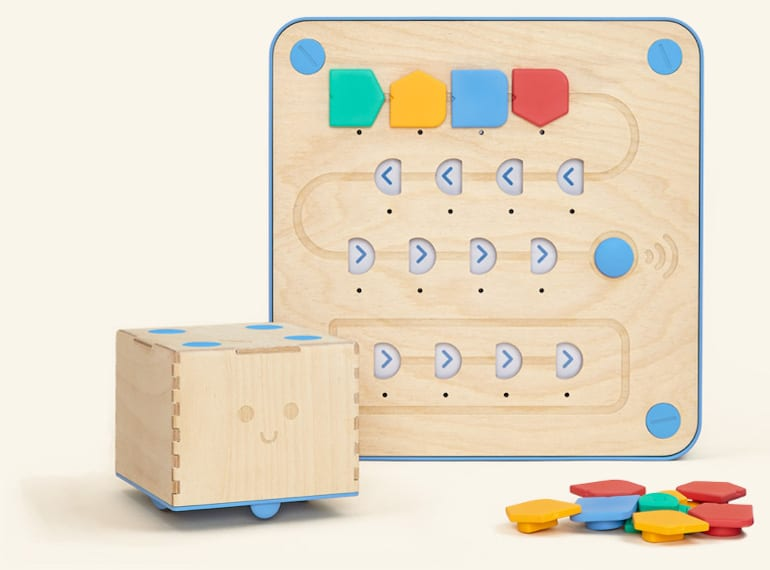 Cubetto Robot Toys to teach coding Honeykids Asia
