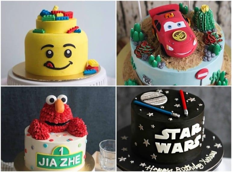 Edibles bake shop Best cake art Honeykids Asia Singapore