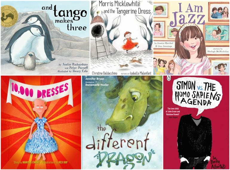 LGBT Picture Books about diversity Honeykids Asia Singapore