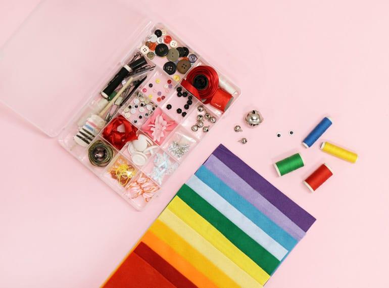 Easy to make stuffed toys Honeykids Asia Singapore materials