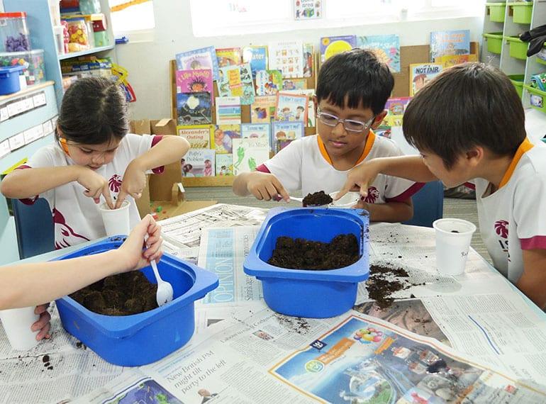 Honeykids Asia ISS classroom