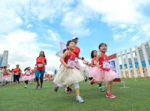 Great Eastern Women's Run 2017 Honeykids Asia Singapore