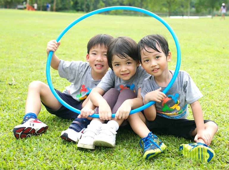 Ready Steady Go Kids Sports for toddlers Honeykids Asia Singapore