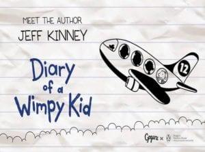 Meet Jeff Kinney Author of Diary of a Wimpy Kid Honeykids Asia Singapore