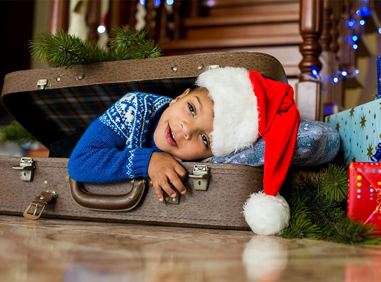 Travelling overseas with kids at Christmas