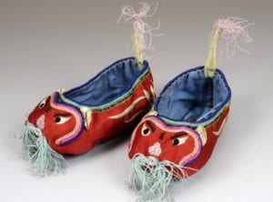 Infant-tiger-booties-late-19th century stitches of love Honeykids Asia Singapore