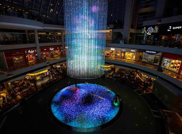 Digital Life Canvas Marina Bay Sands Honeykids Asia Singapore