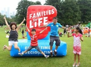 Families for Life picnic at Istana Honeykids Asia SIngapore