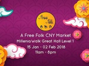 Free folk CNY market honeykids Asia singapore