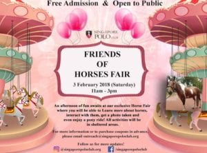 Friends of horses fair Honeykids Asia Singapore