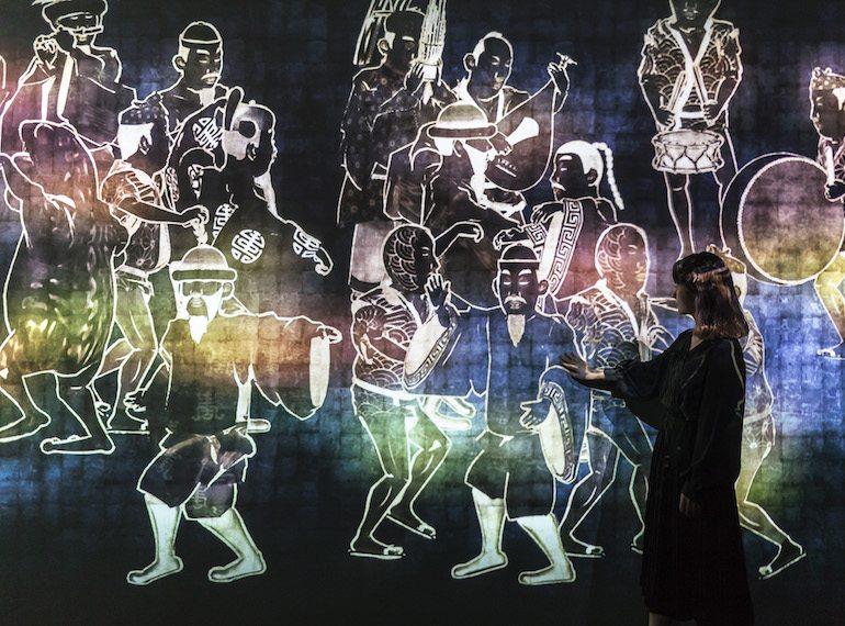 Singapore Art Week Light to Night teamlab-Walk-Walk-Walk-Search-Deviate-Reunite Honeykids Asia Singapore