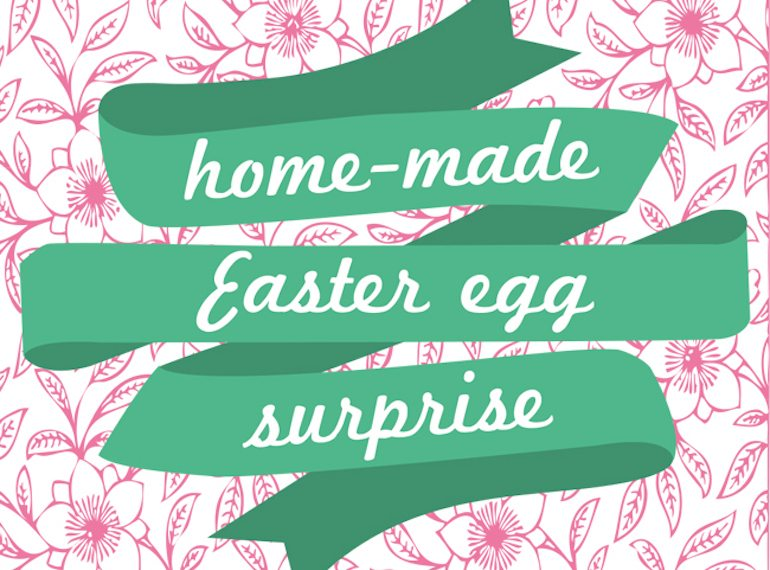 Home-made easter egg surprise Honeykids Asia Singapore