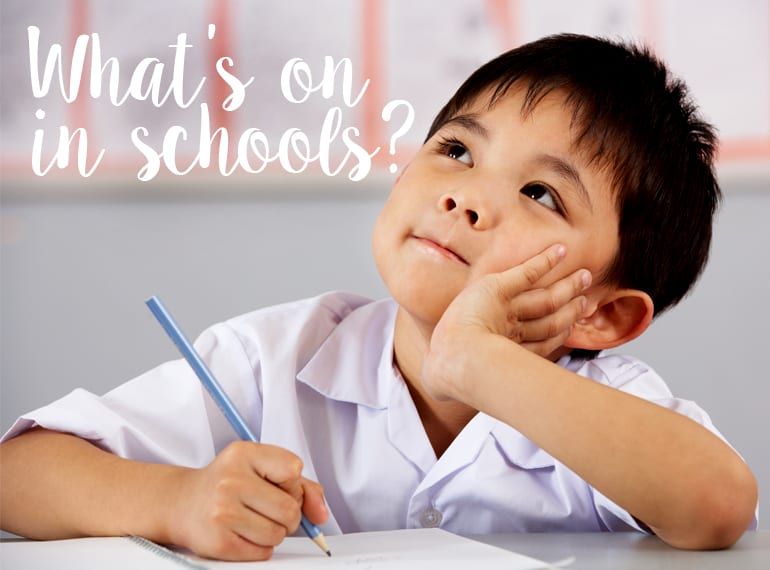 What's on in schools in Singapore Honeykids Asia