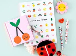 kikki-k cute stationery for kids honeykids asia Singapore