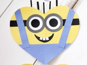 Valentine-craft-for-kids-MINIONS