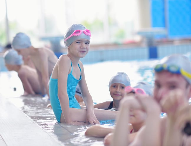 Learning to swim in singapore classes for kids for Swimming pool lessons for kids