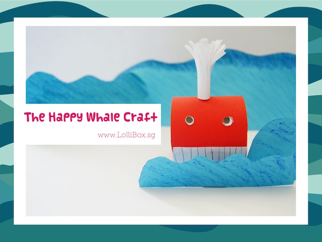 LolliBox whale craft