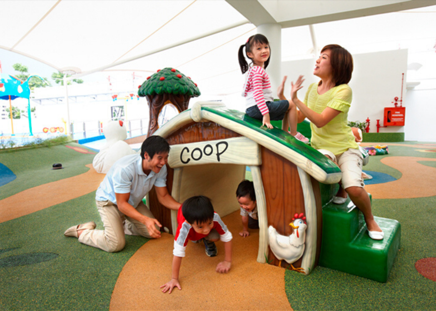 Singapore shopping malls with amazing play areas for kids