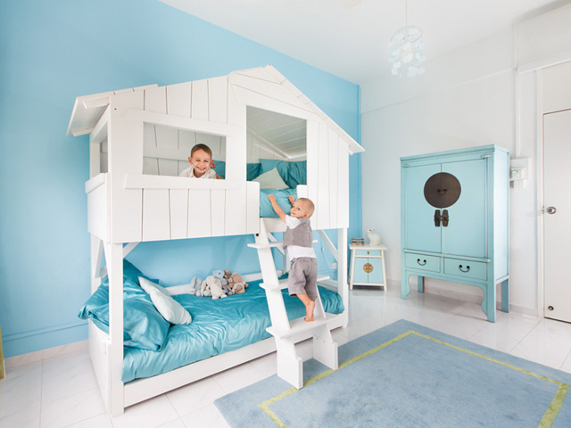 Awesome Kids Treehouse Bunk Beds Le Lit Cabane Honeykids Asia