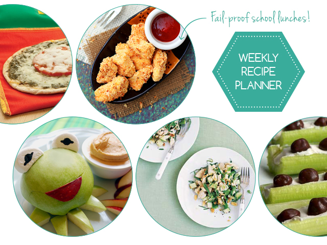 5 Back to School Lunches