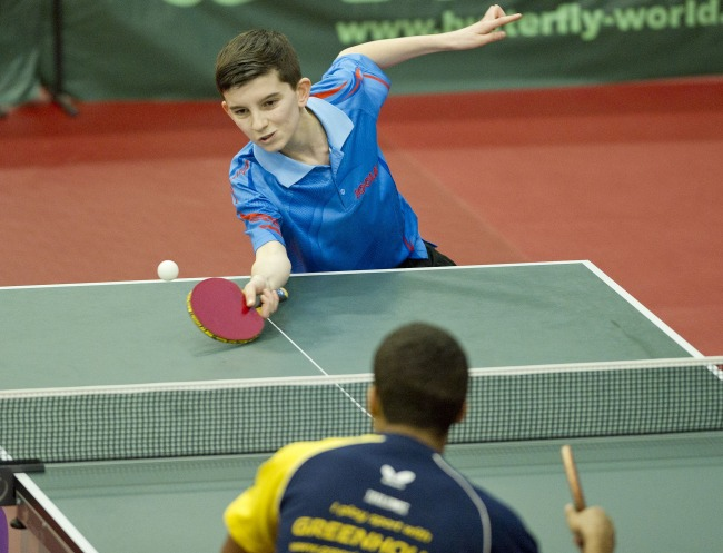 Free Table Tennis Lesson For Kids