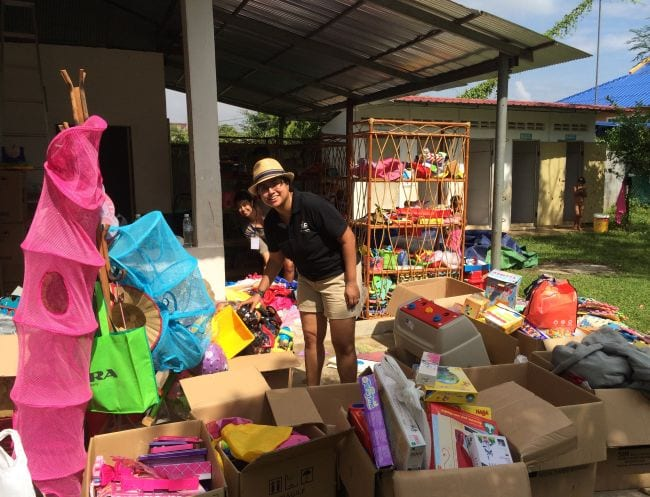 Charity Events In Singapore Whitelodge Donation Drive And