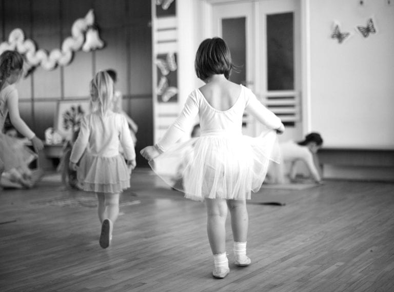Dance classes for toddlers in Singapore: Ballet lessons and movement for children under three