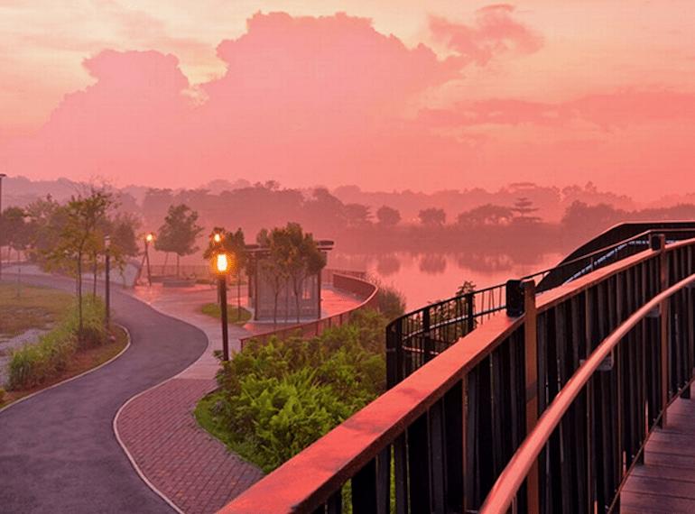 punggoll waterways cycling guide in Singapore Honeykids Asia