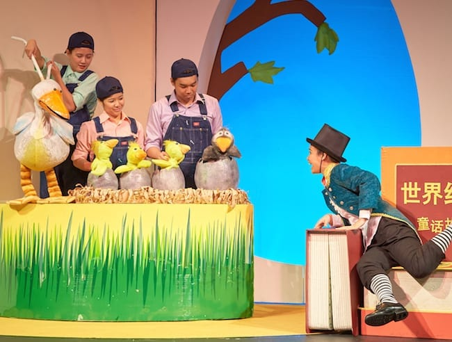 Children's theatre in Singapore: SRT's The Little Company presents The Ugly Duckling in Mandarin – The HoneyKids review