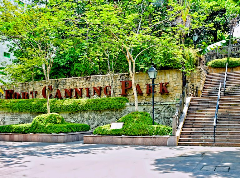 Guide to Fort Canning Hill: what to see, where to eat and how to get there