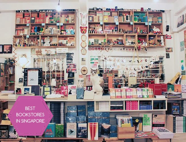 Bookstores in Singapore: Best bookshops for fiction, children's books and local literature