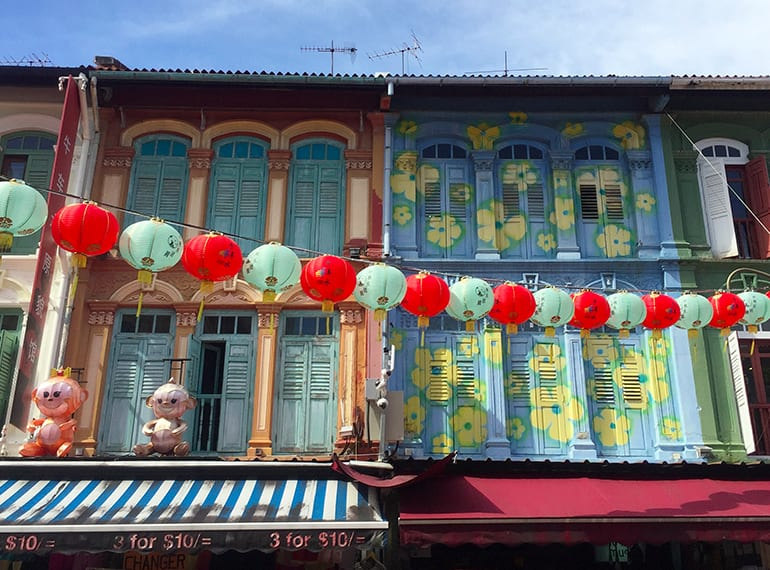 The lanterns are out! Pagoda Street in Chinatown gets even more vibrant during Mid-Autumn Festival.