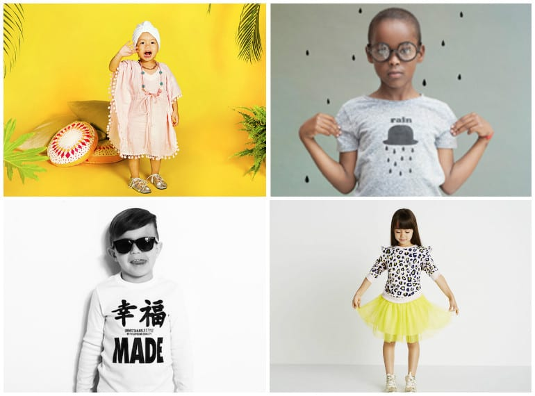 Kids fashion in Singapore