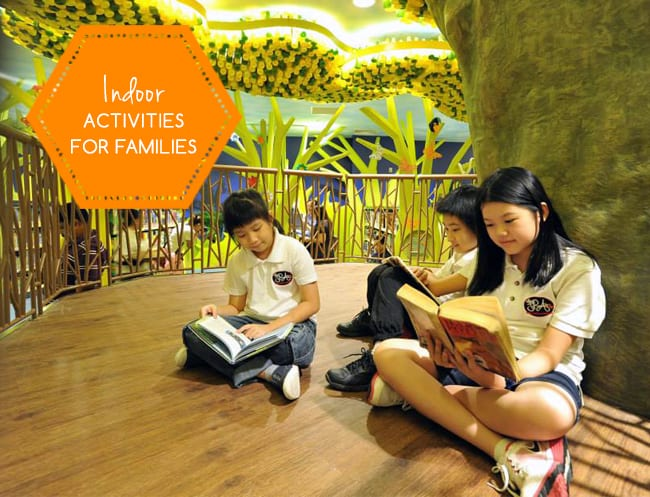 Child-friendly indoor activities in Singapore: Rainy and hazy day activities for the family