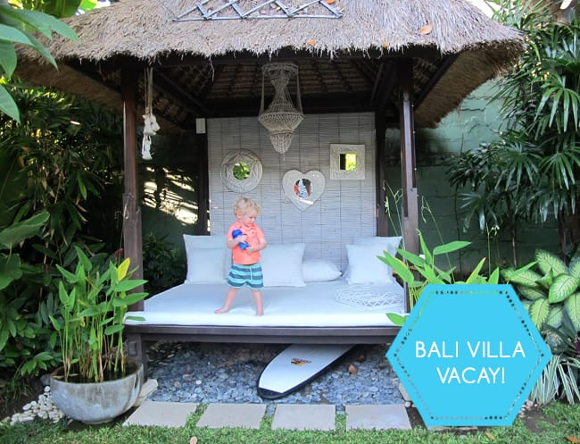Family-friendly holidays in Bali: HoneyKids reviews a beautiful Airbnb villa in Seminyak
