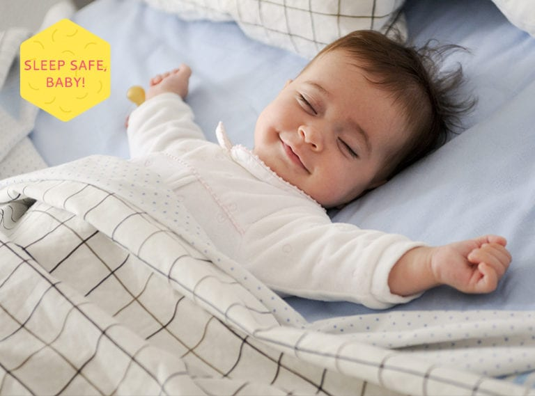 safe sleeping for babies in Singapore HoneyKids Asia
