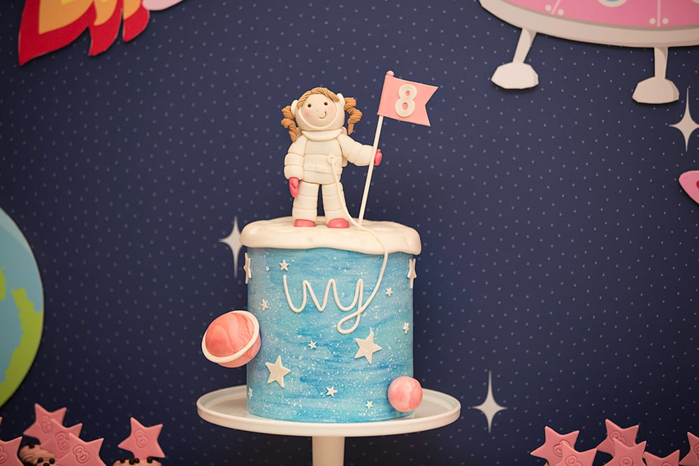 Cool Party Ideas For Kids A Girly Twist On A Space Themed