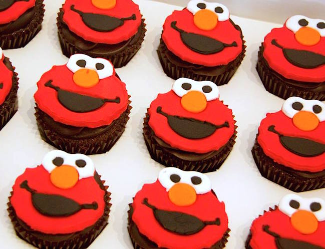 Elmo Design Cake In Singapore