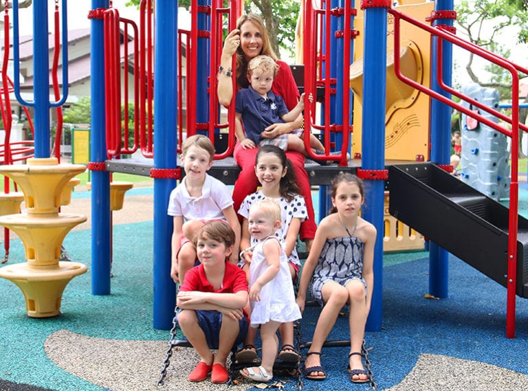 Living with a big family in Singapore: Charlotte De Carpentier on parenting six children