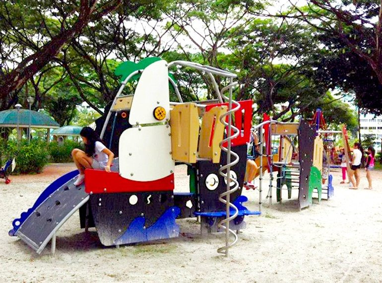 Arboretum-Playground Honeykids Asia Singapore
