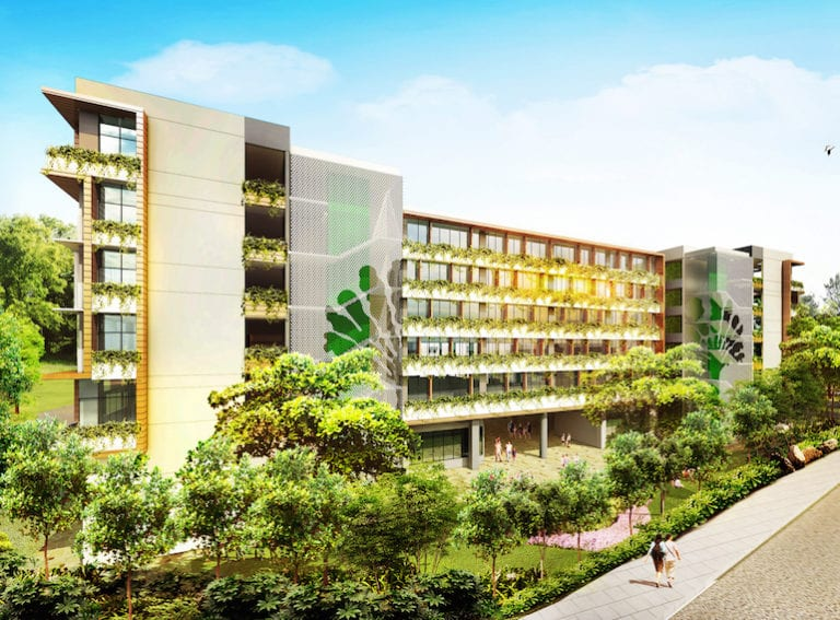 A new campus for the German European School Singapore